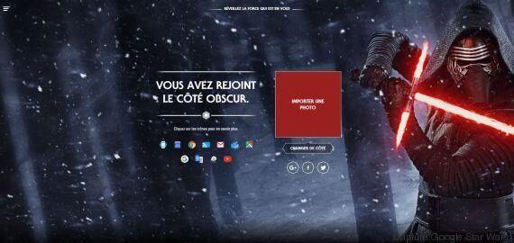 Choisissez votre camp et modifiez vos interfaces Google sur le thème de Star