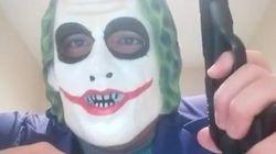 Le «Joker» qui aurait menacé «les Arabes» remis en