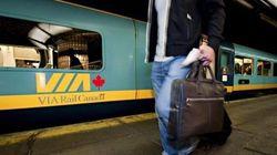 Ralentissement des trains de VIA Rail
