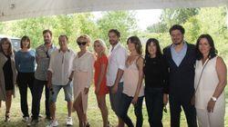 Pamela Anderson crée l'effervescence sur le plateau de «Sur-Vie»