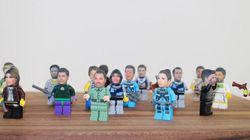 Votre tête sur un Lego