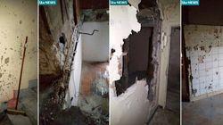 Ce qu'il reste de l'appartement de Saint-Denis après l'assaut
