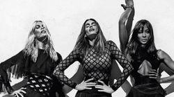 Balmain embauche Claudia Schiffer, Naomi Campbell et Cindy Crawford