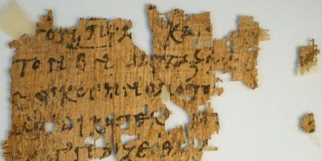 Un papyrus de l'Évangile en vente sur eBay sauvé par un