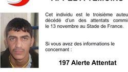 Attentats de Paris: la police diffuse la photo du 3e kamikaze du Stade de