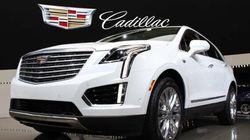Dévoilement du Cadillac XT5 2017