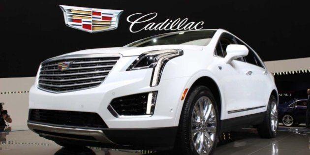 Dévoilement du Cadillac XT5 2017 à Los Angeles