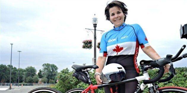 Vol des vélos de la paralympienne Marie-Ève Croteau : un suspect
