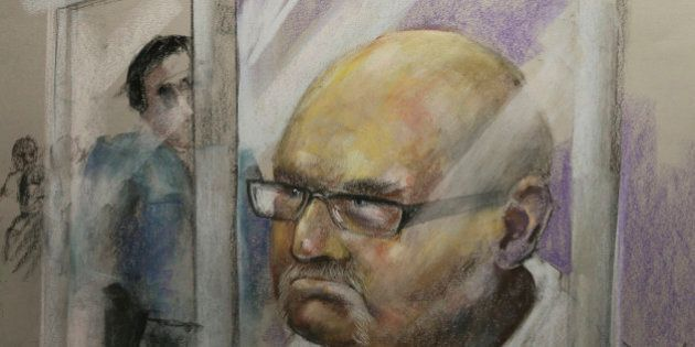 Richard Henry Bain, the suspect for the shooting at the Metropolis on Tuesday night, is being arraigned...