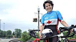 Vol des vélos de Marie-Ève Croteau : un suspect
