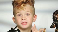 Une première : un garçon dans une publicité de Barbie