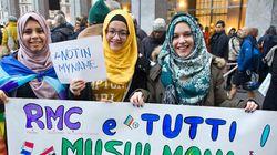 Des musulmans manifestent en Italie contre le terrorisme