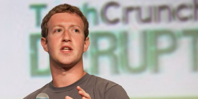 Mark Zuckerberg at TechCrunch Disrupt 2012. For publication rights, contact JD Lasica at