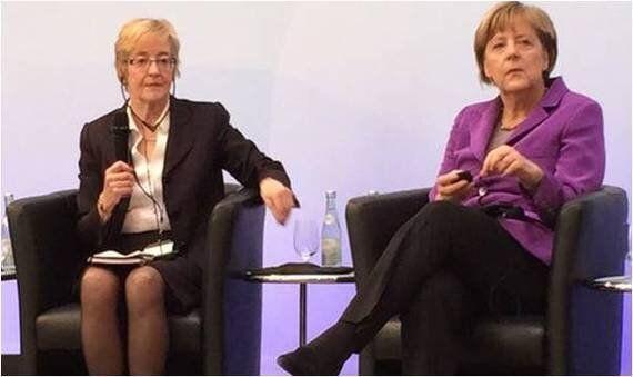 Maude Barlow discute libre-échange avec Angela