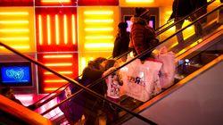 Le grand magasin de jouets de Times Square à New York va