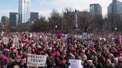 J'ai participé à la marche des femmes à