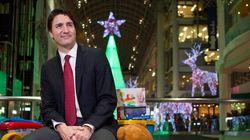 Pour Noël, Trudeau appelle à la générosité envers les réfugiés