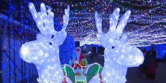 Plus d'énergie consommée par les lumières de Noël aux États-Unis qu'en Ethiopie sur un