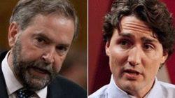 Prière à Ottawa: Trudeau et Mulcair favorables à un moment de