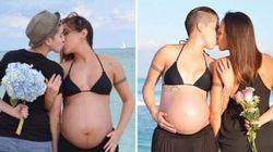 Ce couple homosexuel veut encourager les futures mamans avec cette