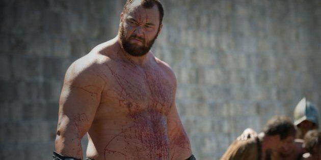 Le régime de «La Montagne» de Game of Thrones explique pourquoi il est si