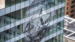 De l'art sur l'édifice du
