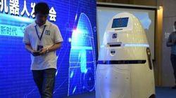 Il n'est pas aussi impressionnant que Robocop, mais ce robot anti-émeutes existe en
