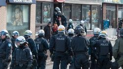 Manif contre la brutalité policière ce