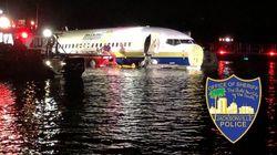 143人が乗ったボーイング737が着陸失敗、川に突っ込む。アメリカ・フロリダ州