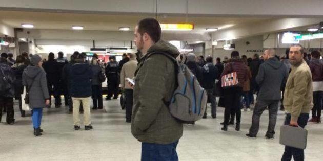 STM: la ligne orange du métro paralysée pendant près de