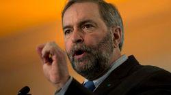 Thomas Mulcair promet de créer un ministère des Affaires