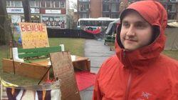 Mobilisation anti-austérité: campement étudiant au cégep de Saint-Laurent