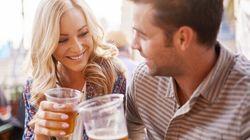 Les couples qui ont l'habitude de boire ensemble restent