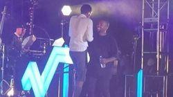 Stromae et Kanye West sur la même scène à