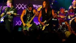 Metallica pour inaugurer le Centre