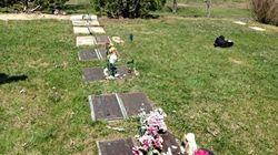 Vol de plaques funéraires dans un cimetière de