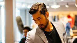Le modèle Godfrey Gao s'arrête à Vancouver pour un