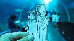En voyage, ce couple remplace les selfies par des dessins