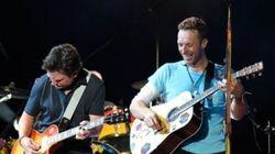 Le héros de «Retour vers le futur» a rejoint Coldplay sur scène