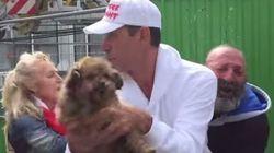 Une association de défense des animaux arrache son chien à un sans-abri