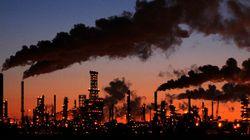 Les émissions de GES ont poursuivi leur lente augmentation en