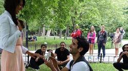 Montréal: cette demande en mariage a nécessité 2 mois de préparation et 20 personnes