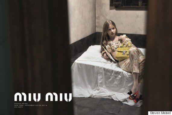 La plus récente publicité de Miu Miu mettant en vedette Mia Goth est bannie au