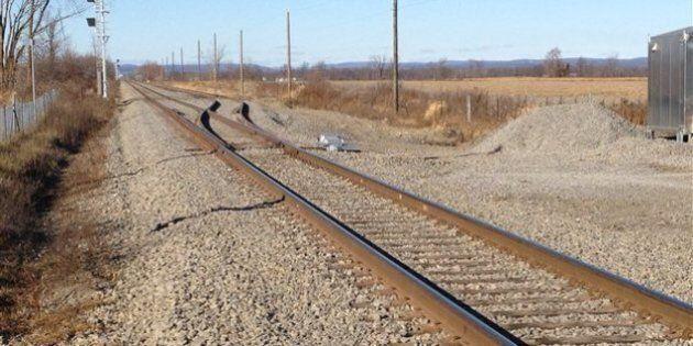 Le projet de gare de train à Mirabel