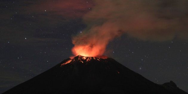 Le volcan mexicain Popocatepetl s'active