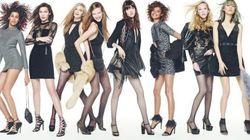 La campagne de Noël de Topshop réunit parmi les plus belles mannequins au