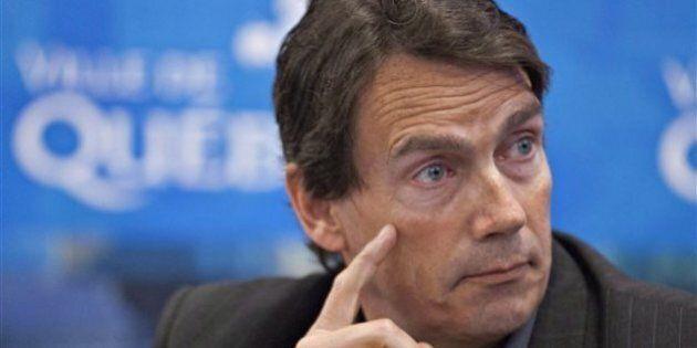 Pierre Karl Péladeau minimise les tensions au sein de son