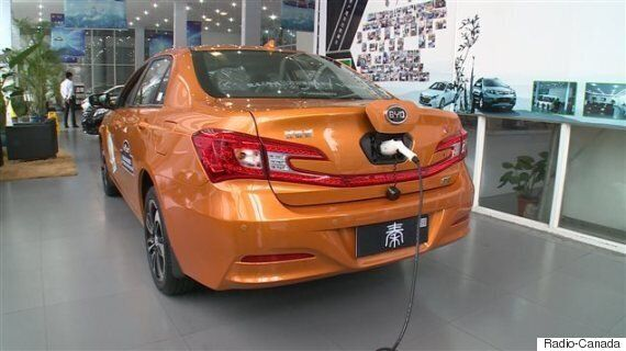 La voiture hybride, nouvelle arme contre la pollution en Chine (PHOTOS,