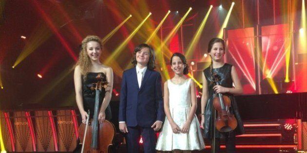 «Virtuose» à Radio-Canada: Gregory Charles et ses jeunes