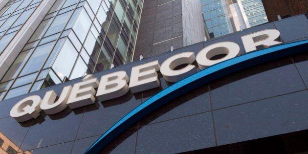 Québecor: baisse de bénéfice net et hausse de